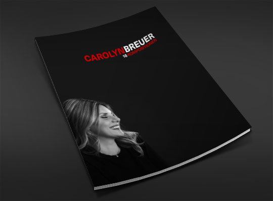 Titel des Buches: Carolyn Breuer – 16 Kompositionen